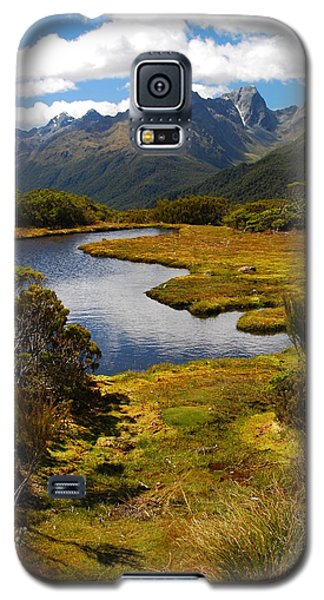 New Zealand Alpine Landscape Galaxy S5 Case