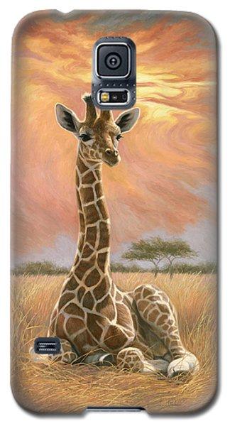 Newborn Giraffe Galaxy S5 Case
