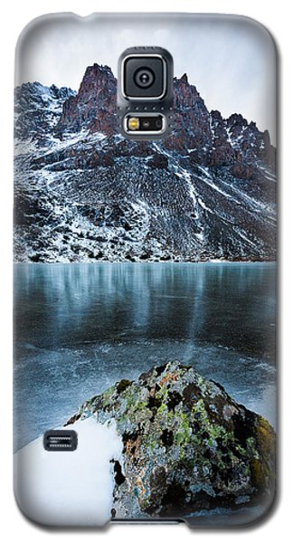 Frozen Mountain Lake Galaxy S5 Case