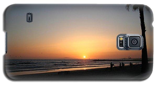 Newport Beach Sunset Galaxy S5 Case