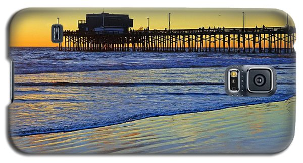 Newport Pier South Side Galaxy S5 Case by Everette McMahan jr