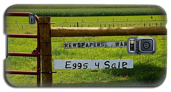 Newspapers Wanted Eggs 4 Sale Galaxy S5 Case