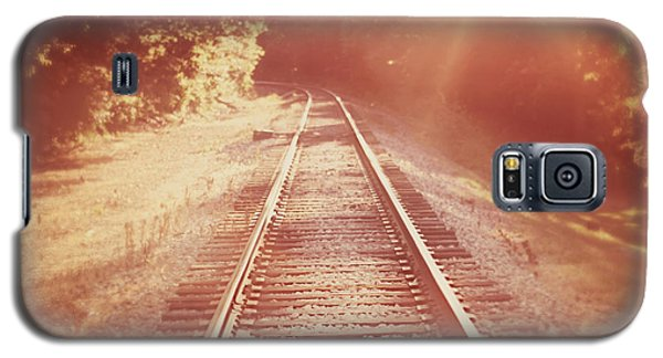Train Galaxy S5 Case - Next Stop Home by Amy Tyler