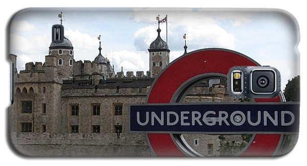 Next Stop Tower Of London Galaxy S5 Case by Jenny Armitage