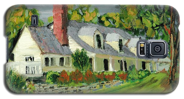 Galaxy S5 Case featuring the painting Next To The Wooden Duck Inn by Michael Daniels