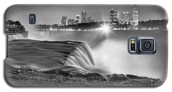 Niagara Falls Black And White Starbursts Galaxy S5 Case