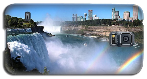 Niagara Falls Double Rainbow Galaxy S5 Case