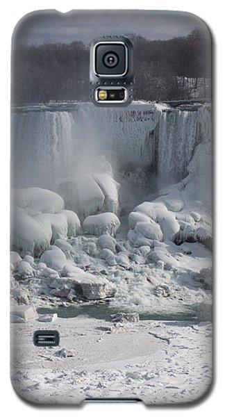 Niagara Falls Ice Buildup - American Falls New York State U S A Galaxy S5 Case