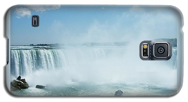 Niagara Falls In Spring Galaxy S5 Case by Phil Banks