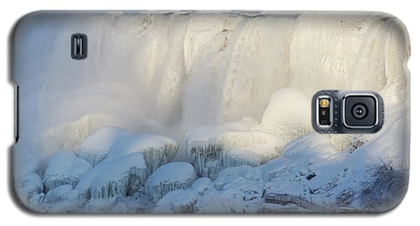 Niagara Falls In Winter Galaxy S5 Case by Phil Banks