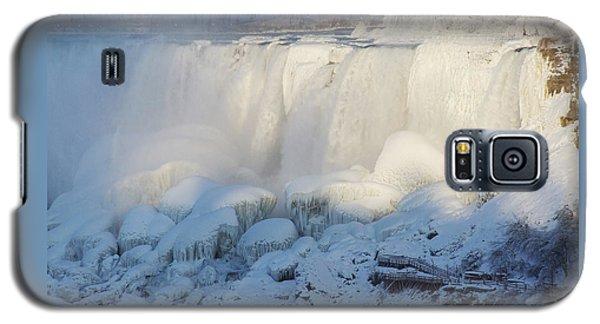 Niagara Falls In Winter Galaxy S5 Case
