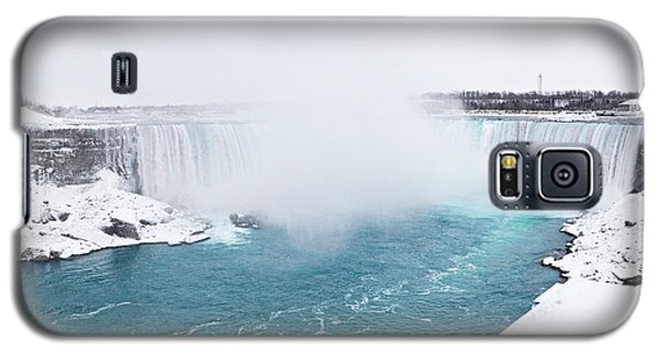 Niagara Falls Misty Winter Wonderland Galaxy S5 Case