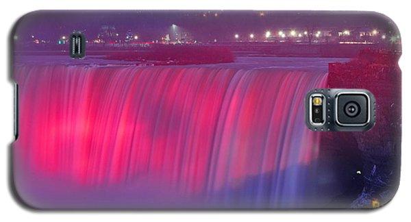 Niagara Falls Pretty In Pink Lights. Galaxy S5 Case