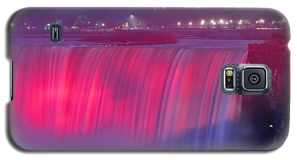 Niagara Falls Pretty In Pink Lights. Galaxy S5 Case