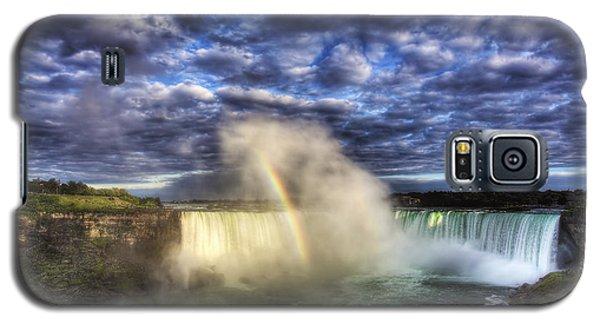 Niagara Falls Rainbow Galaxy S5 Case by Shawn Everhart