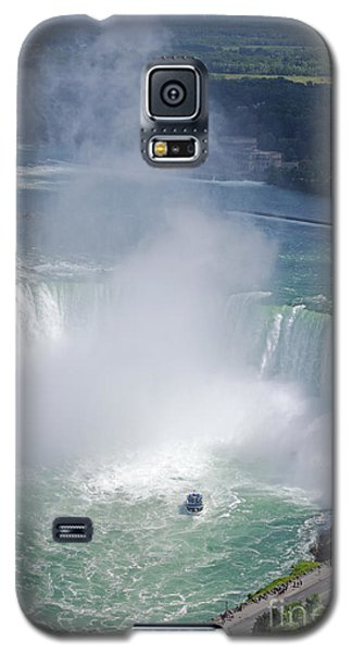 Niagara Falls Summer Vertical Galaxy S5 Case by Charline Xia