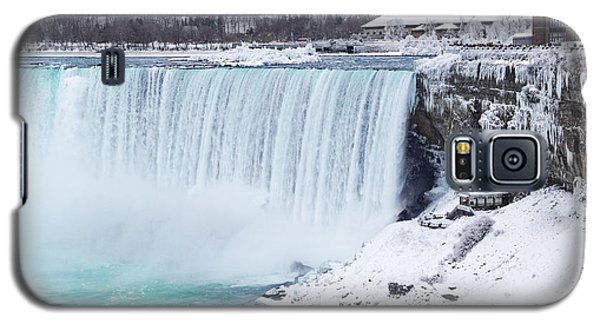 Niagara Falls Winter Galaxy S5 Case
