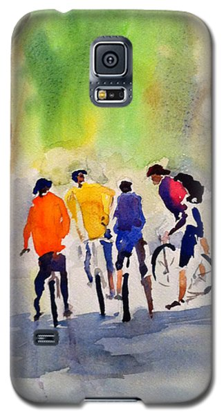 Nicasio Bikers Galaxy S5 Case by Tom Simmons