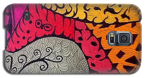 Galaxy S5 Case - Nice Colors In A Doodling Designs I by Sandra Lira