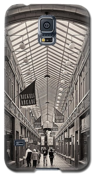 Galaxy S5 Case featuring the photograph Nickels Arcade by James Howe