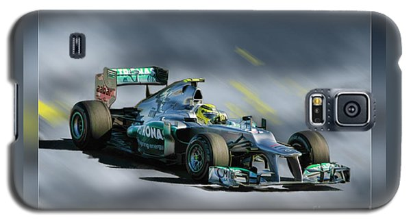 Nico Rosberg Mercedes Benz Galaxy S5 Case