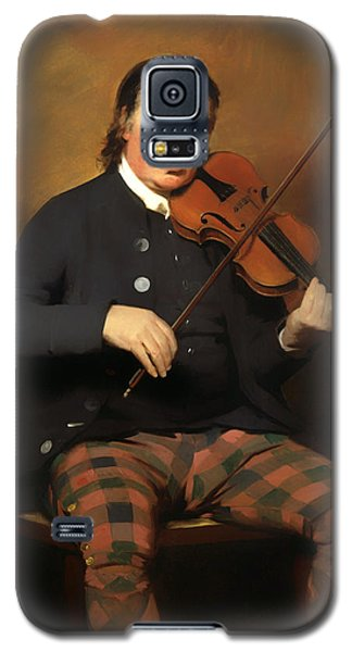 Violin Galaxy S5 Case - Niel Gow - Violinist And Composer by Mountain Dreams