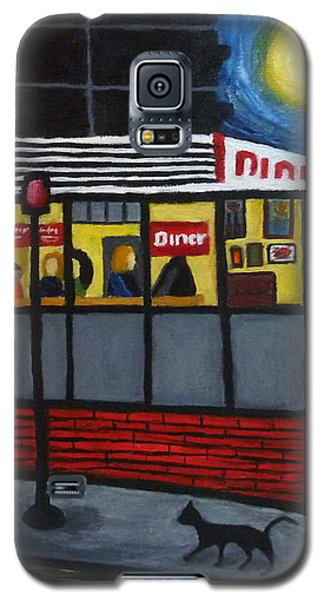 Night At An Arlington Diner Galaxy S5 Case
