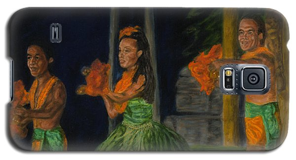 Night At The Luau Galaxy S5 Case