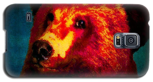 Night Bear 2 Galaxy S5 Case