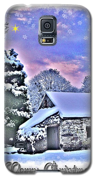 Christmas Card 27 Galaxy S5 Case