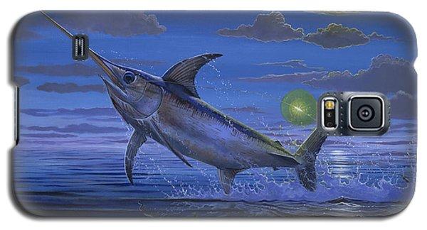 Swordfish Galaxy S5 Case - Night Bite Off0066 by Carey Chen