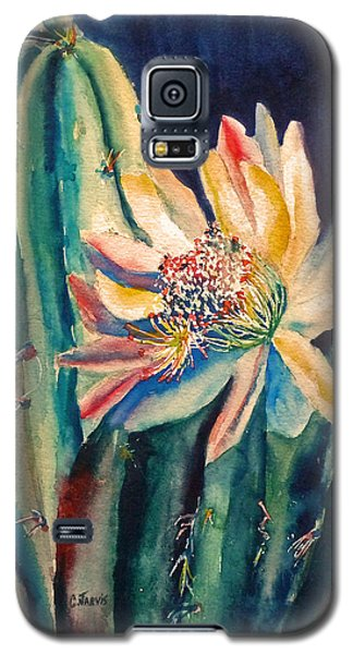 Night Blooming Cactus Galaxy S5 Case