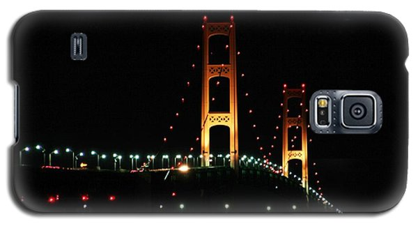 Night Bridge Galaxy S5 Case by Bill Woodstock