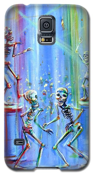 Galaxy S5 Case featuring the painting Night Club by Heather Calderon