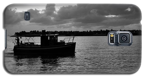 Galaxy S5 Case featuring the photograph Night Fishing by Laurie Perry