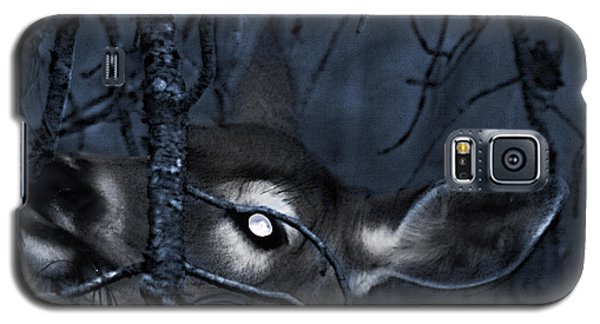 Galaxy S5 Case featuring the photograph Night Grazing by Janie Johnson