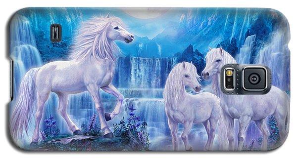 Night Horses Galaxy S5 Case by Jan Patrik Krasny