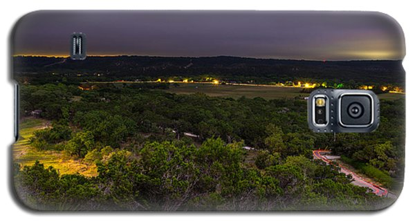 Night In A Texas Hill Country Valley Galaxy S5 Case