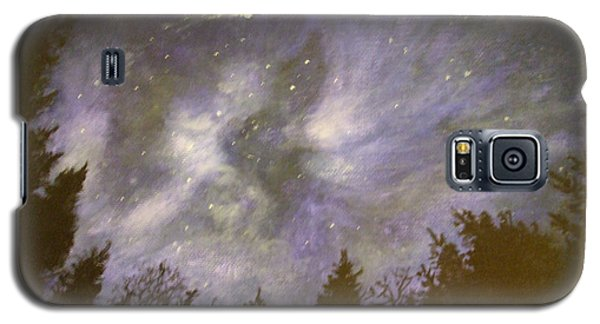Night In The Forrest Galaxy S5 Case