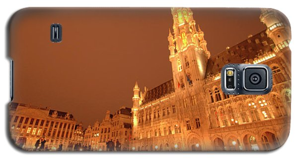 Night In The Grand Place Galaxy S5 Case