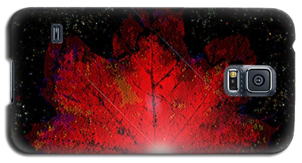 Night Light Galaxy S5 Case by Ann Johndro-Collins