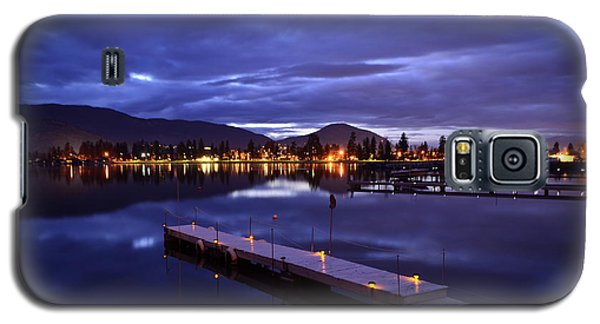 Night Lights Galaxy S5 Case by Guy Hoffman