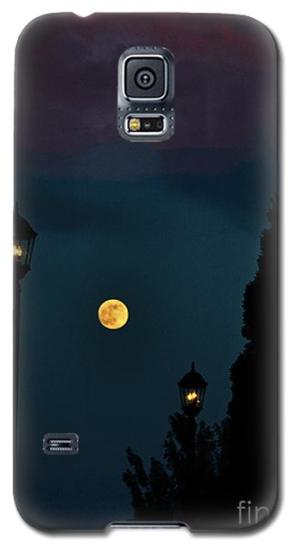 Night Lights Galaxy S5 Case by Lydia Holly
