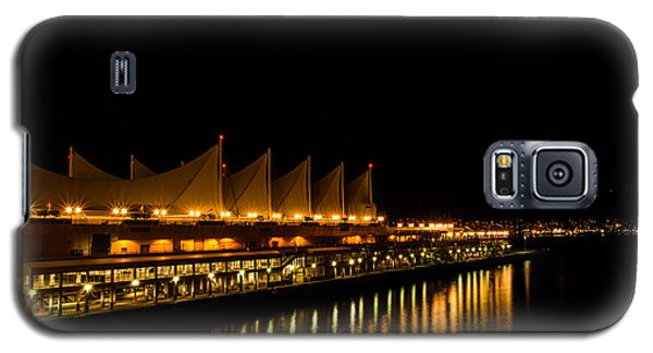 Night Lights On The Waterfront Galaxy S5 Case by Haren Images- Kriss Haren