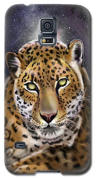 Fourth Of The Big Cat Series - Leopard Galaxy S5 Case