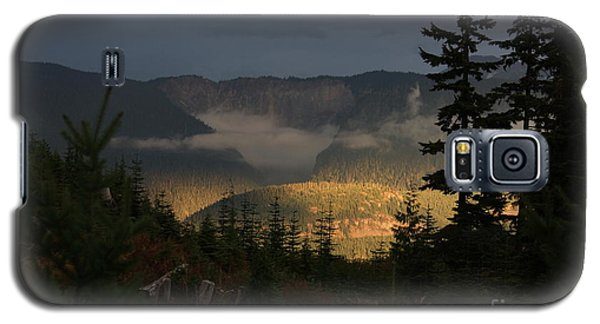Night On Cougar Mountain Series Vi Galaxy S5 Case