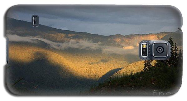 Night On Cougar Mountain Series Viii Galaxy S5 Case