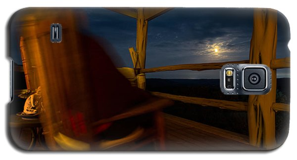 Galaxy S5 Case featuring the photograph Night On The Porch by Darryl Dalton
