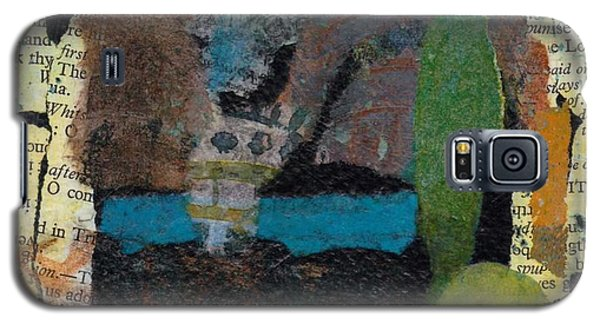 Galaxy S5 Case featuring the mixed media Night Scene by Catherine Redmayne