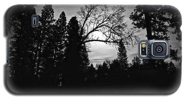 Galaxy S5 Case featuring the photograph Night Shadows by Lennie Green